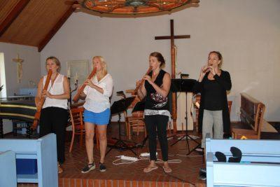 Blockflöjtskvartetten Bravade