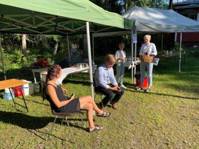 Solhälla evenemangs personal